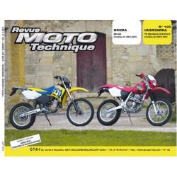 REVUE MOTO TECHNIQUE HONDA XR 400 de 1996 à 2001 - RMT 120