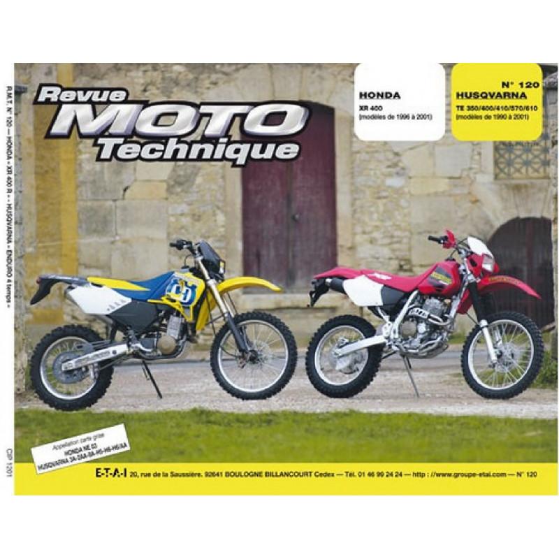 REVUE MOTO TECHNIQUE HONDA XR 400 de 1996 à 2001 - RMT 120 Librairie Automobile SPE 9782726891766