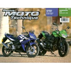 REVUE MOTO TECHNIQUE HONDA CB 125 RW de 2007 à 2009 - RMT 152 Librairie Automobile SPE 9782726892534