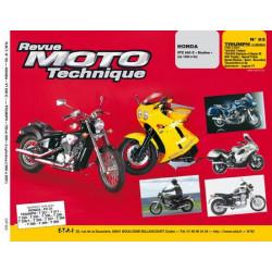 REVUE MOTO TECHNIQUE HONDA VTC 600 SHADOW de 1988 à 1994 - RMT 93 Librairie Automobile SPE 9782726890912