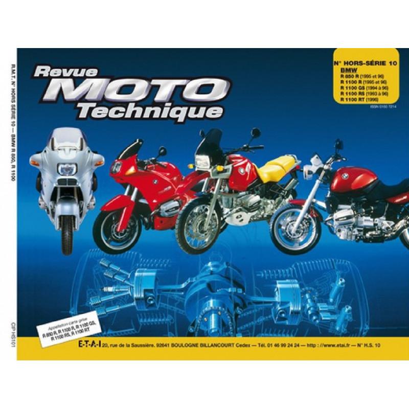 REVUE MOTO TECHNIQUE BMW R850 et R1000 de 1994 à 1996- RMT HS10 Librairie Automobile SPE 9782756895086
