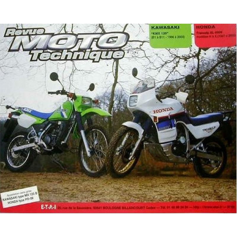 REVUE MOTO TECHNIQUE KAWASAKI KMX 125 de 1986 à 2002 - RMT 68 Librairie Automobile SPE 9782726891247