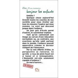 Bonjour les enfants de Élise Ed. Le Grand Souffle Librairie Automobile SPE 9782916492322