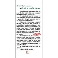 Éclosion de la louve de Elisabeth Ed. Le Grand Souffle Librairie Automobile SPE 9782916492292