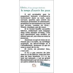 Le temps d'ouvrir les yeux de Fabrice Ed. Le Grand Souffle Librairie Automobile SPE 9782916492087