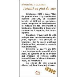L'amitié au pied du mur de Alexandre Ed. Le Grand Souffle Librairie Automobile SPE 9782916492056