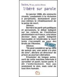 Libéré sur parole de Lucien Ed. Le Grand Souffle Librairie Automobile SPE 9782916492063