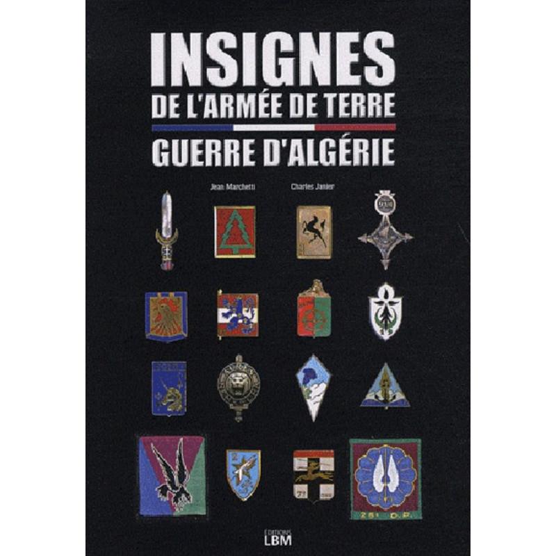 INSIGNES DE L'ARMEE DE TERRE PENDANT GUERRE ALGERIE