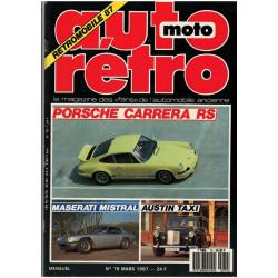 REVUE AUTO RÉTRO N° 79 - PORSCHE CARRERA RS Librairie Automobile SPE AUTO RÉTRO N° 79