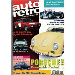 AUTO RÉTRO N° 121 - PORSCHE 356 Librairie Automobile SPE AUTO RETRO N° 121