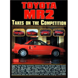 TOYOTA MR2 TAKES ON THE COMPETITION Librairie Automobile SPE 9781855205246