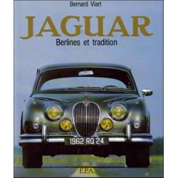 JAGUAR BERLINES ET TRADITION de Bernard VIART Librairie Automobile SPE 9782851202697