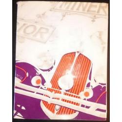 LIVRE D'OR DU SALON DE L'AUTOMOBILE , DU MOTOCYCLE ET DU CYCLE - 1970 Librairie Automobile SPE salon70