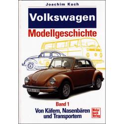 VOLKSWAGEN MODELLGESCHICHTE - BAND 1 Librairie Automobile SPE 9783613018815