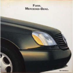 Form Mercedes-Benz  - The Roots and Rationale of Beauty / Bruno Alfieri / Edition Automobilia-9788879600804