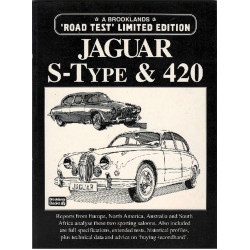 JAGUAR S-TYPE et 420 - Road Test Limited édition Librairie Automobile SPE 9781855203457