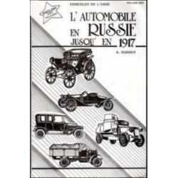 L'AUTOMOBILE EN RUSSIE JUSQU'EN 1917 Librairie Automobile SPE 9782904904165