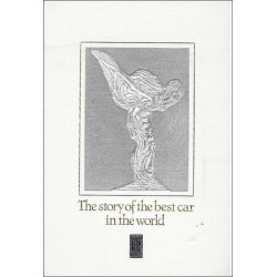 ROLLS ROYCE THE STORY OF THE BEST CAR (TOME 1) Librairie Automobile SPE RRtome1