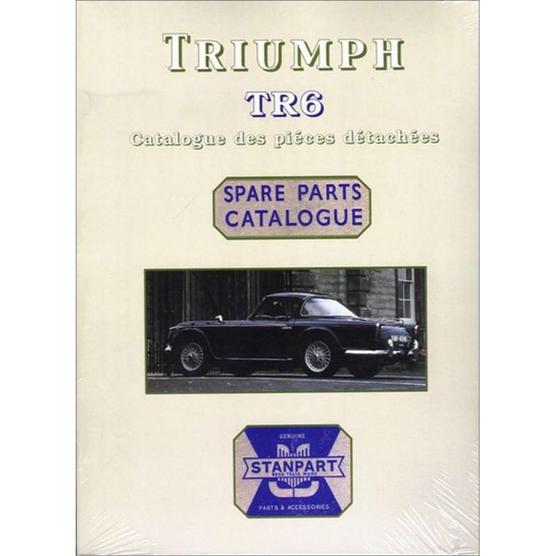 TRIUMPH TR6 CATALOGUE DE PIÈCES Librairie Automobile SPE P108
