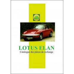 LOTUS ELAN CATALOGUE DE PIÈCES Librairie Automobile SPE 9782360590858