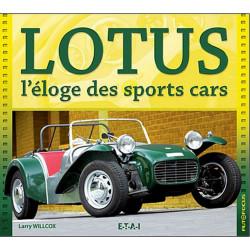 LOTUS L'ÉLOGE DES SPORTS CARS Librairie Automobile SPE 21771
