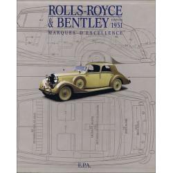 Rolls -Royce et Bentley depuis 1931