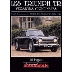 LES TRIUMPH TR VERSIONS ORIGINALES Librairie Automobile SPE 9782883240506