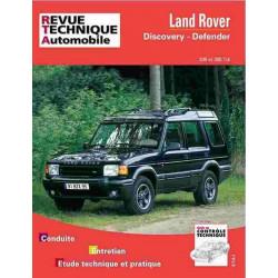 REVUE TECHNIQUE LAND ROVER DEFENDER et DISCOVREY - RTA 564 Librairie Automobile SPE 9782726856413
