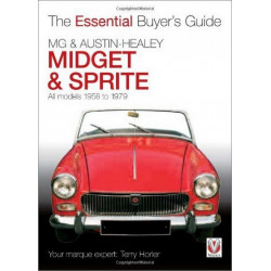 MG Midget et Austin Healey Sprite , All Models Librairie Automobile SPE 9781845843540