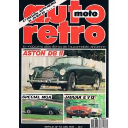 AUTO RETRO ASTON DB II N°94 Librairie Automobile SPE AUTO RETRO N°94
