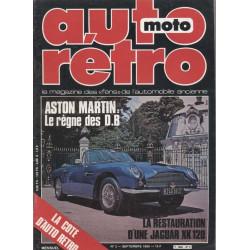 AUTO RÉTRO ASTON MARTIN N°2