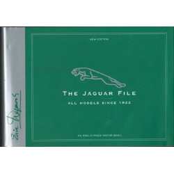 THE JAGUAR FILE ALL MODELS SINCE 1922 Librairie Automobile SPE 9780953414222