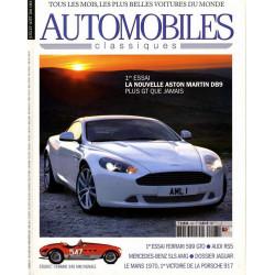 ASTON MARTIN DB9 COUPE et VOLANTE AUTOMOBILES CLASSIQUES