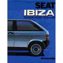 SEAT IBIZA TOUS LES MODÈLES Librairie Automobile SPE seatAutmobilia