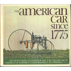 American Car Since 1775 / Edition DUTTON (500 Pages )-9780525053002