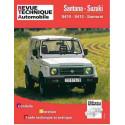 REVUE TECHNIQUE SUZUKI SANTANA SAMURAI - RTA 502 Librairie Automobile SPE 9782726850244