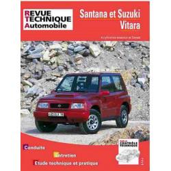 REVUE TECHNIQUE SUZUKI VITARA 1990-1997 - RTA 553 Librairie Automobile SPE 9782726855324
