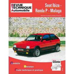 REVUE TECHNIQUE SEAT IBIZA 1984-1989 - RTA 473 Librairie Automobile SPE 9782726847336