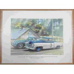 Reproduction des 24 Heures du Mans 1950 CADILLAC Daniel PICOT Librairie Automobile SPE picot50