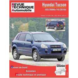 REVUE TECHNIQUE HYUNDAI TUSCON DIESEL - RTA HS006 Librairie Automobile SPE 9782726800614