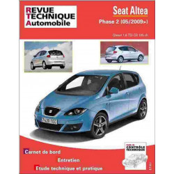 REVUE TECHNIQUE SEAT ALTEA PHASE 2 - RTA HS012 Librairie Automobile SPE 9782726801215