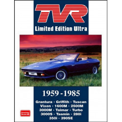 TVR LIMITED EDITION ULTRA 1959 - 1985 Librairie Automobile SPE 9781855208537
