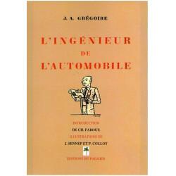 INGENIEUR DE L'AUTOMOBILE - J.A GRÉGOIRE Librairie Automobile SPE P148