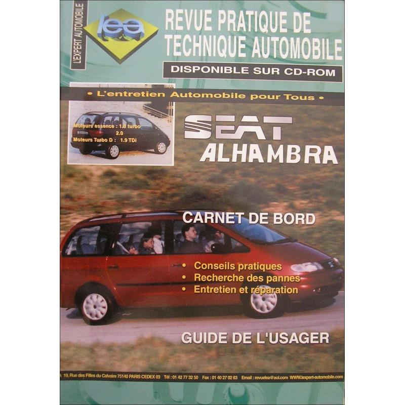 REVUE TECHNIQUE AUTOMOBILE SEAT ALHAMBRA Ess ET Die Librairie Automobile SPE 3176420503005