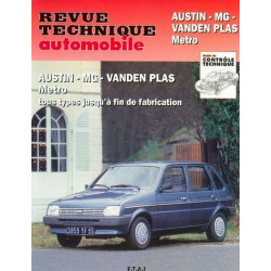 REVUE TECHNIQUE AUSTIN MG - RTA 428 Librairie Automobile SPE 9782726842843