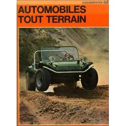 AUTOMOBILES TOUT TERRAIN, DOCUMENTAIRES ALPHA Librairie Automobile SPE DOCALPHA