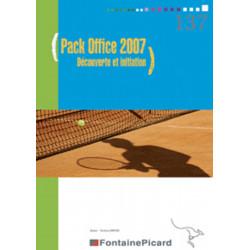 Pack office 2007 - découverte et initiation - Fontaine Picard Librairie Automobile SPE 137