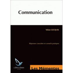 Mémentos De Révision COMMUNICATION BTS COMMUNICATION / LE GENIE / EX080-9782843479175
