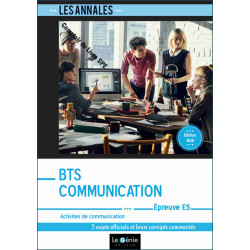 Annales BTS Communication...