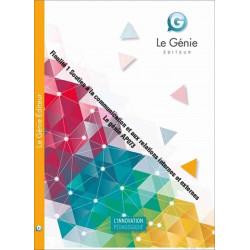 Finalité 1 Soutien à la communication et aux relations internes et externes Le génie AP073